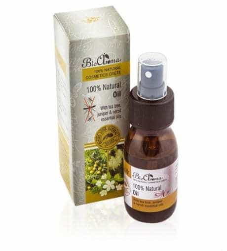 100% Natural mosquito repellent oil travel size 50ml.