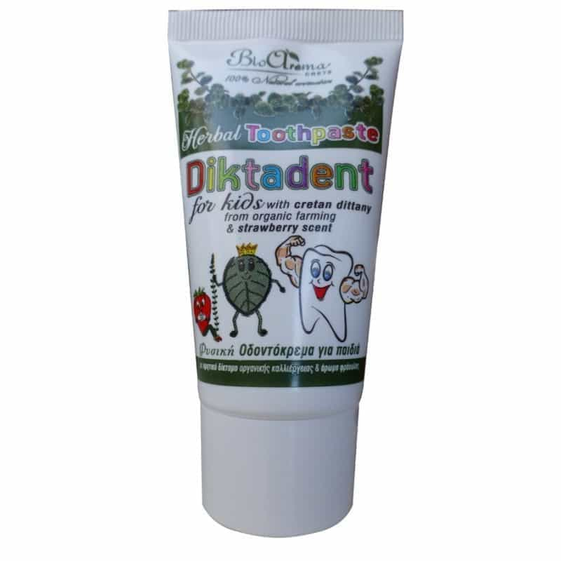 Diktadent herbal toothpaste for children 75ml.