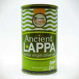 Ancient Lappa , extra virgin ORGANIC olive oil 250ml.