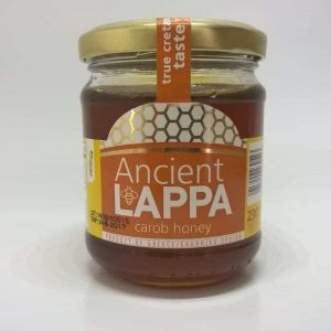 Ancient Lappa , carob honey 230gr.