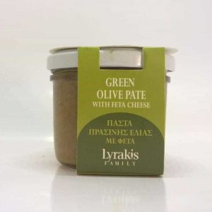Green olive paste with feta.