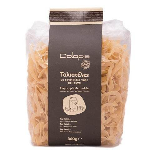 Tagliatelle with goat milk and eggs. (360gr)