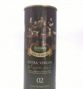 Lyrakis Extra virgin olive oil, 500 ml.