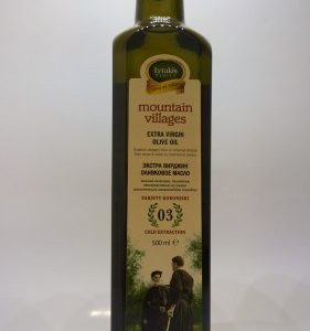 Mountain villages Extra virgin olive oil 500ml.