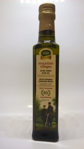 Mountain villages extra virgin olive oil 250ml.
