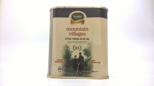 Moutain villages extra virgin olive oil, 500 ml.