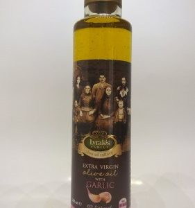 Olive oil with Garlic.