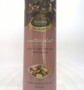 """Cretan diet"" Olive oil for vegetables, 1ltr."