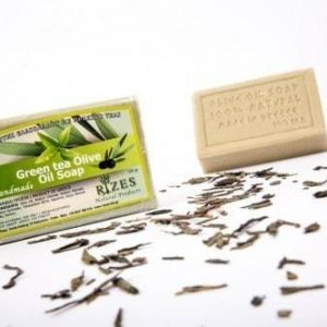 Green Tea Olive Oil Soap - 100gr