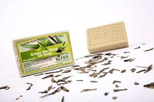 Green Tea Olive Oil Soap – 100gr.
