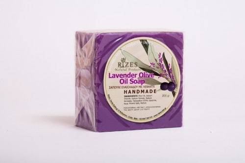 Lavender Olive Oil Soap - 200gr