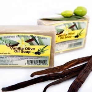 Vanilla Olive Oil Soap – 100gr.