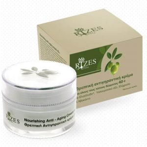 Nourishing anti-aging cream for all skin types 40+.