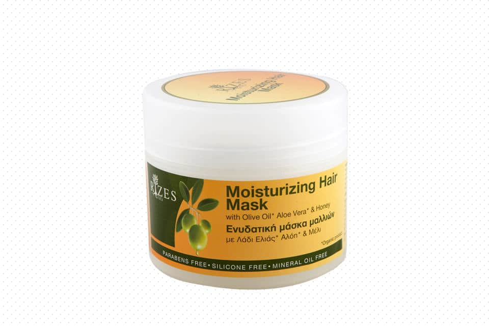 Hair mask with olive oil, aloe vera and honey. - www.ilovecrete.eu