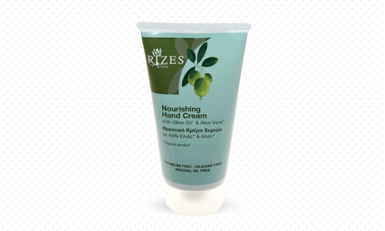 Nourishing hand cream with olive oil and Aloe Vera.