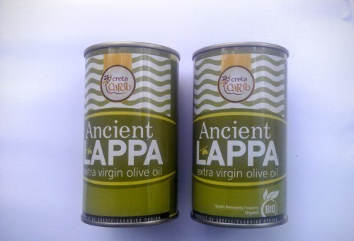 Ancient Lappa Organic Extra Virgin Vs. Extra Virgin Olive Oil.