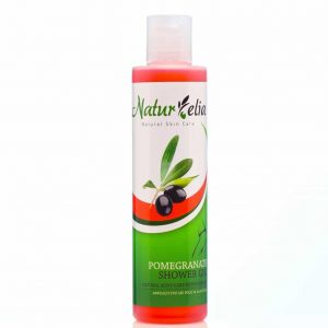 shower gel with pomegranate extract.