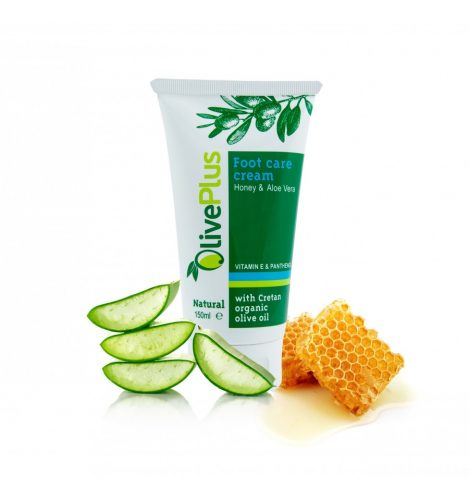Foot care cream with honey and aloe vera 150ml.