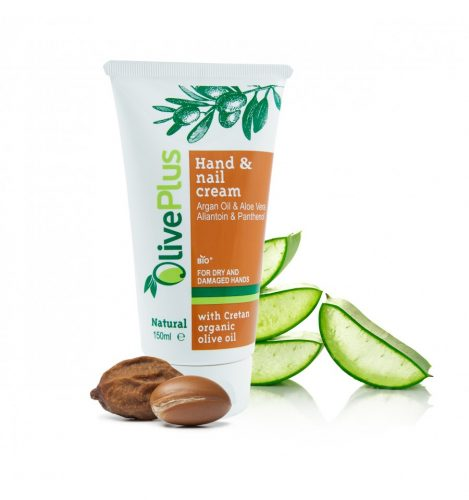 Hand cream with Aloe Vera and Argan oil 150ml.