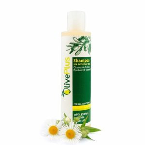 Shampoo with Chamomile extract for everyday use 200ml.