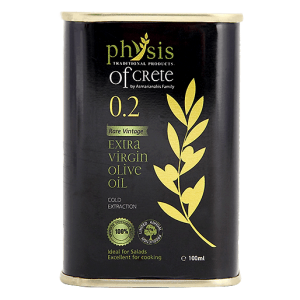 Physis of Crete 0.2 extra virgin olive oil in can – 100ml