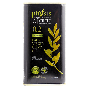 Physis of Crete 0.2 Extra virgin olive oil– can – 250ml