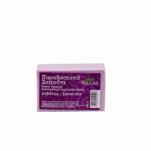 Bellas, Greek traditional Lavender olive oil soap 100gr.