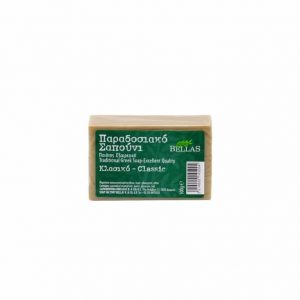 Bellas, Classic traditional Green olive oil soap 100gr.