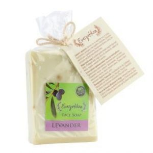 100% natural, high quality, extra virgin olive oil and lavender soap 130gr.