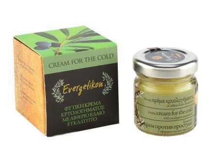 Cold Symptoms' Relief Cream with Eucalyptus essential oil 40ml.