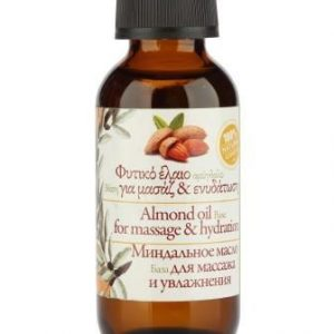 Natural almond oil for massage and body hydration 50ml.