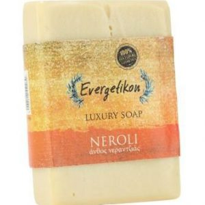 Natural, high quality, Cretan extra virgin olive oil Neroli soap 130-160gr.