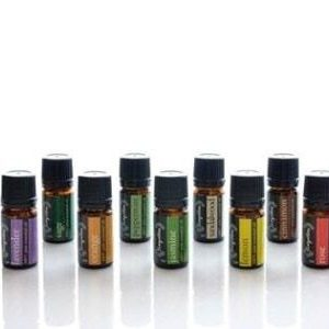 Set with 11 Essential oils from Evergetikon for Aromatherapy.