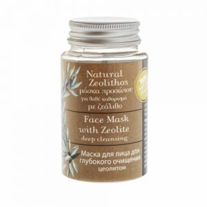 Natural Face Mask with Zeolite for deep cleansing 70ml. - Evergetikon - ilovecrete.eu