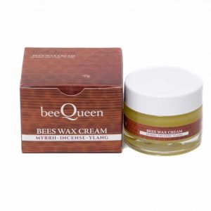Organic beeswax skin care Ointment DLC Bee Queen Myrrh-Incense-Ylang