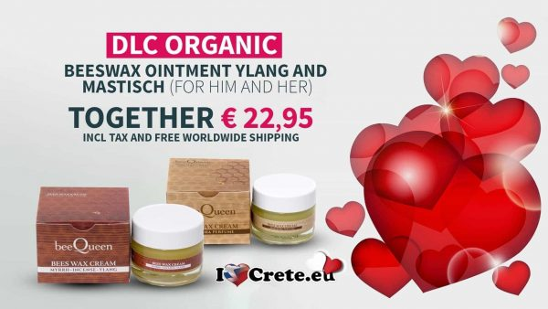 DLC Queen beeswax ointment with Mastischa and Ylang together for 22,95