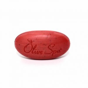 Santorini Vinsanto red wine scrub soap.