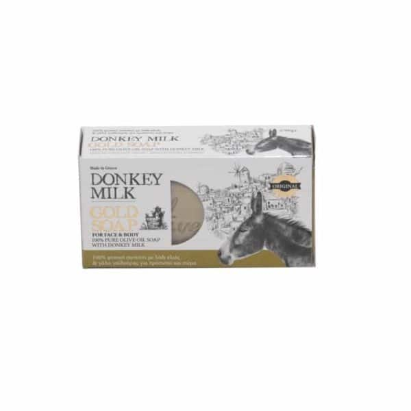 Donkey milk gold soap