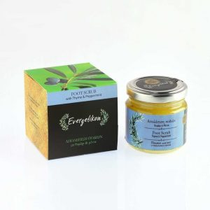 Foot Scrub 100ml. With Thyme and Peppermint.