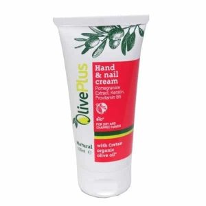 Olive Plus Hand and Nail Cream with pomegranate - ilovecrete.eu -