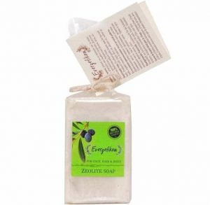 Zeolite soap for body cleaning