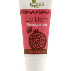 Lip balm with SPF and pomegranate, without Vaseline 8ml.