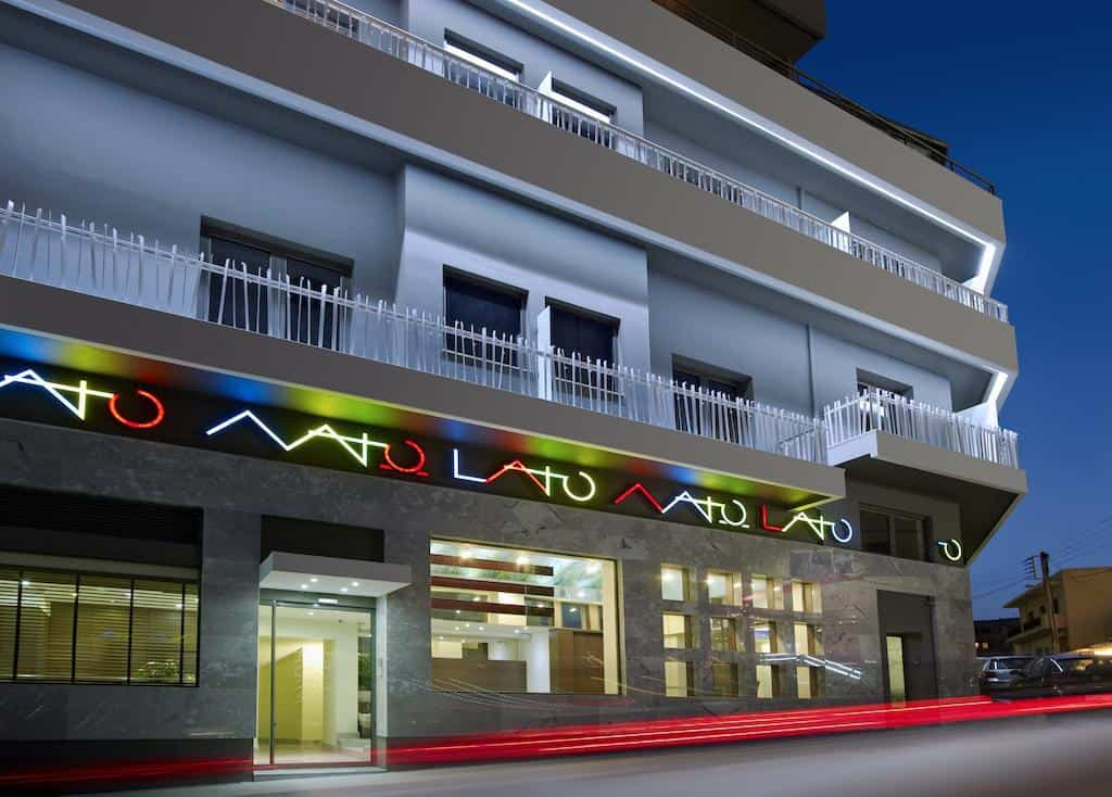 Entrance Lato Boutique Hotel Heraklion Crete