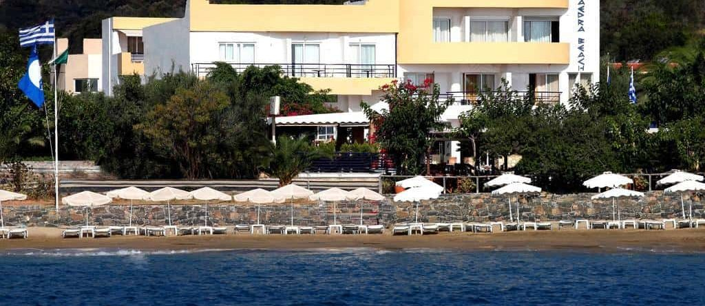 Faedra Beach Hotel at Agios Nikolaos - Crete - Greece.