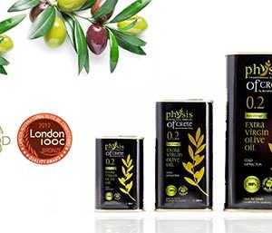 Physis of Crete olive oil rewards